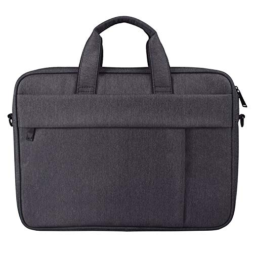 Anbel Cmf DJ03 Waterproof Anti-scratch Anti-theft One-shoulder Handbag for 15.6 inch Laptops, with Suitcase Belt(Black),laptop bag (Color : Navy Blue)
