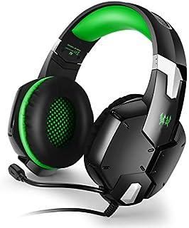 Fone de Ouvido Headset Gamer C/Microfone P/ PS4 Xbox-One Computador Notebook Cabo Nylon P2 P3 3.5mm VD