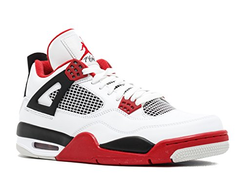 Air Jordan 4 Retro Fire Red '2012 Release'- 308497-110 - Size 7.5 -