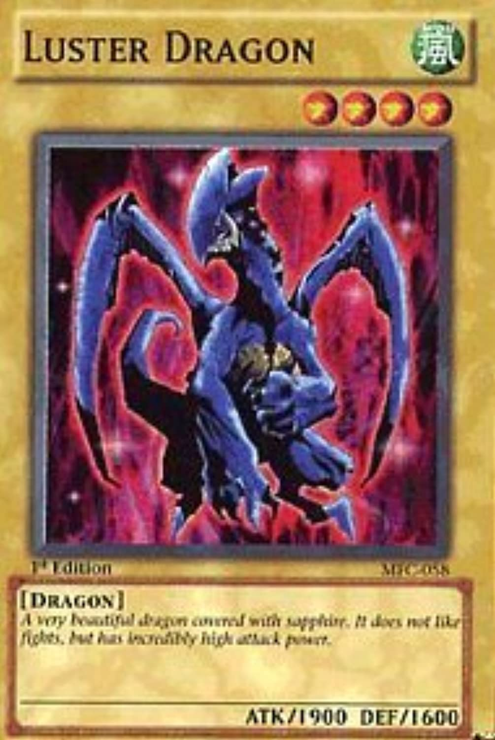 Luster Dragon  Magician's Force  Ultra Rare [Toy]
