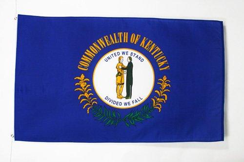 AZ FLAG Drapeau Kentucky 150x90cm - Drapeau Etat américain - USA - Etats-Unis 90 x 150 cm - Drapeaux