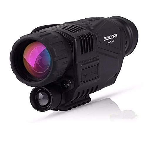 WY-YAN Imagen Nocturna Digital telescopio visión de HD-infrarroja monocular con grabación y reproducción de vídeo función for la Noche Viendo la Caza y la observación de Seguridad de la vigilancia de
