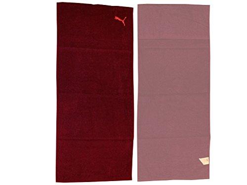 Puma Training Towel - magenta purple-pink glo, Größe:OSFA