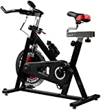 Bicicleta estática de Interior, Ciclo de Entrenamiento Bicicleta estática Fitness Cardio Workout Home Ciclismo Que compite con la máquina