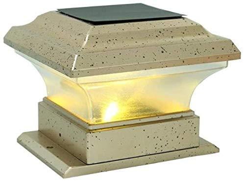 Sonnenlicht Decking Terrassenbeleuchtung Außenbeleuchtung Landschaft Licht Außenleuchten Wiederaufladbare Solarbetriebene LED-Garten-Licht-wasserdichter Outdoor-Höfe Pfeiler Zaun Lampe Solar Energy Sp