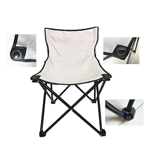 Smartmak Fast Folding Chair,Reinforced, Suitable for Sauna,Beach and Picnic - Grey