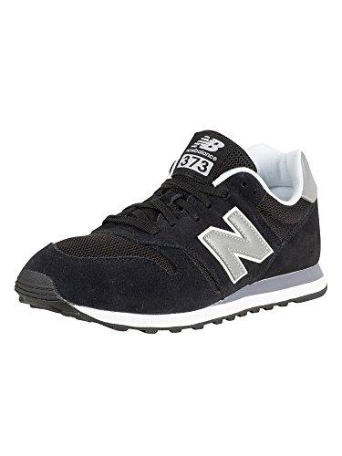 New Balance Herren 373 Core h Sneaker, Schwarz (Black), 45 EU