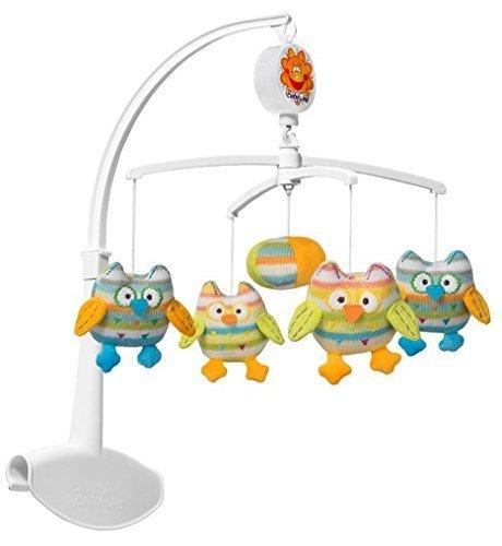 Baby Ono Mobile musical avec peluches colorés (Chouette)