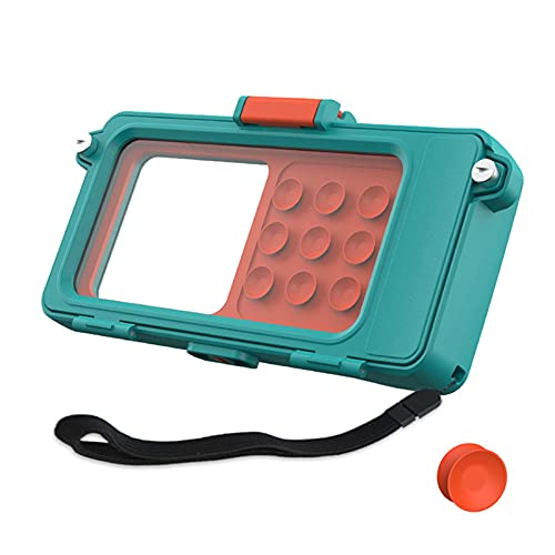 lefeindgdi Funda impermeable para teléfono móvil, impermeable, para grabación de fotos, video, subacuática, funda seca, funda para iPhone, bolsa seca para juegos de agua, 23 x 12 cm