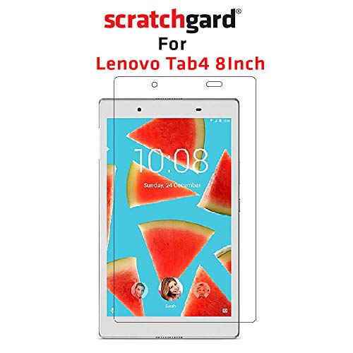 Scratchgard Anti-Bubble & Anti-Fingerprint High Definition (HD) Clear (0.1mm) PET Film Scratch Protection Screen Protector Screen Guard for Lenovo Tab 4 8 inch (TB-8504X)