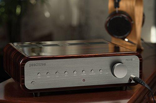 Peachtree Audio nova300 Integrated Amplifier with DAC (Gloss Ebony Mocha)