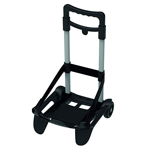 Seven Be Box TOP Carrello Trolley Portazaino Blocca Zaino nero
