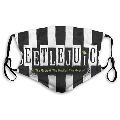 Beetlejuice The Musical Mouth Face Cover Headscarf Outdoor Seamless Reusable Scarf