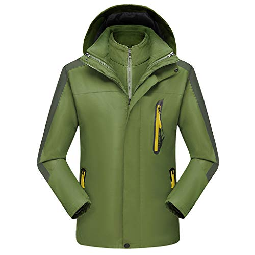 showsing-dames kleding Plain Rainsuit Mannen Hooded Regenjas, Plus Size Hoed Afneembare reathable Sport Outdoor Coat Waterdichte Windproof Jas