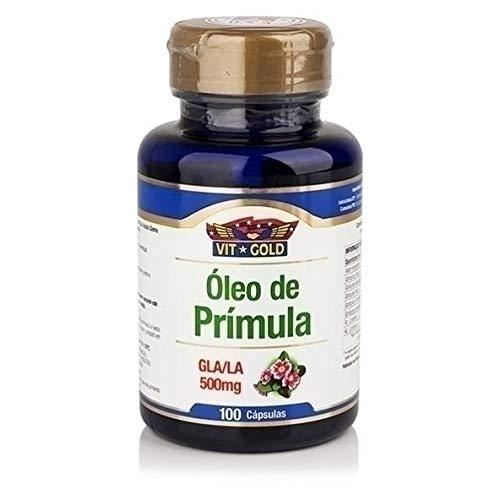 Óleo de Prímula Vitgold 100 cápsulas