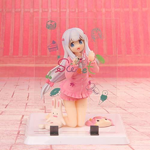 CUUGF Ero Manga Sensei Sagiri Izumi Dulce Ver. Figura de acción de PVC Anime Figure Beauty Girl Modelo Juguetes Colección Muñeca Regalo Estatuillas Adornos