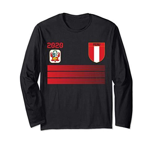 Camiseta de futbol de Perú 2020 Futbol de Perú Manga Larga