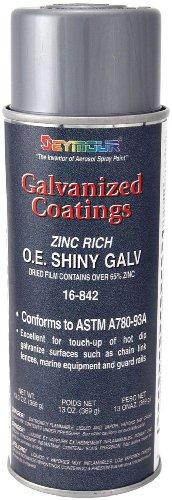 Seymour 16-842 Galvanized Coatings Spray Paint, OE Shiny