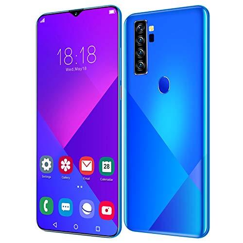 Teléfono móvil Inteligente, 6.7IN 1440X3040 Desbloqueo de Huellas...