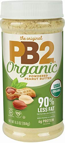 PB2 6.5 oz Organic Powdered Peanut Butter - USDA Organic Certified, Non-GMO Project Verified, Gluten-Free