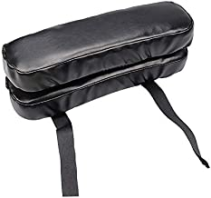 Ziuniuo Wheel Chair Armrest Pad Cover Elbow Pain Relief Cushion Memory Foam PU Leather Office