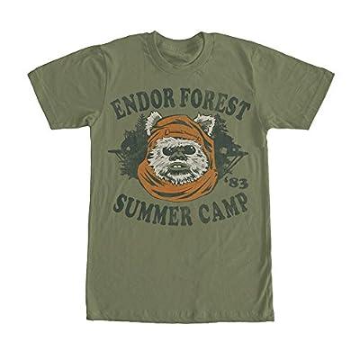 Fifth Sun Star Wars Ewok Summer Camp Mens Graphic T Shirt