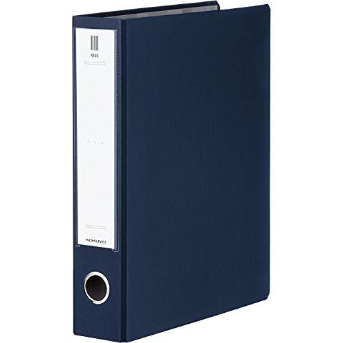 コクヨ ファイル チューブファイル NEOS A4 50mm 2穴 ネイビー フ-NE650DB
