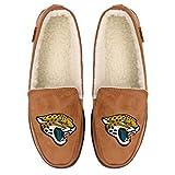 Jacksonville Jaguars NFL Mens Exclusive Beige Moccasin - L