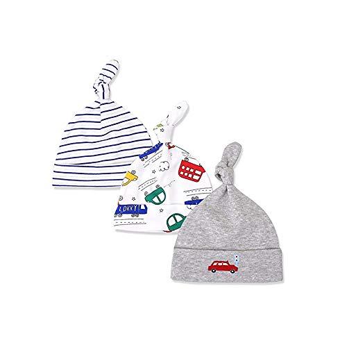 Regalos de los sombreros del bebé recién nacido del bebé Beanie nudo sombrero suave del bebé Gorros