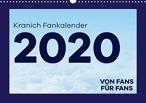 Kranich Fankalender (Wandkalender 2021 DIN A3 quer)