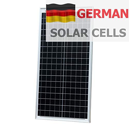 40W Photonic Universe Solarpanel aus Deutschen Solarzellen für Wohnmobil/Wohnmobil/Wohnmobil/Boot/Yacht oder jedes Off-Gitter Solarstromsystem (40 Watt) optimale Wahl zum Aufladen Einer 12V Batterie