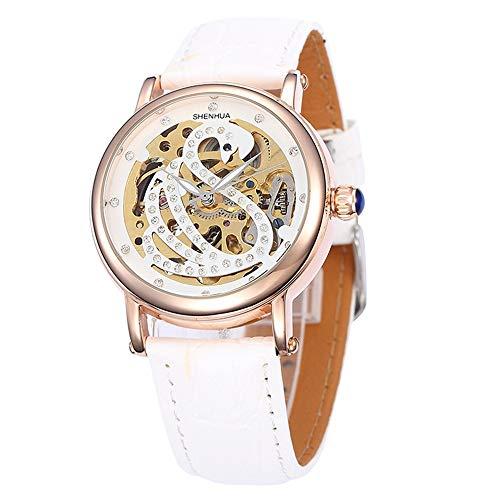 SJXIN Orologio meccanico di alta qualità, Shenhua / 9352T Ms. orologio meccanico vuoto (Color : 1)