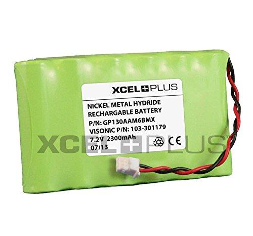 Visonic 2300 mAh mayor vida útil Powermax completo 7,2 V Panel de alarma para batería 103-301179