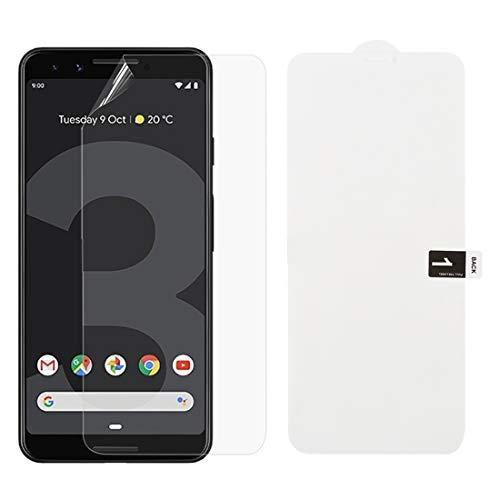 AGAN AYDD Weiche Hydrogelfilm Full Cover Frontschutz für Google Pixel 3