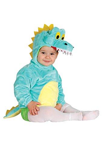 Guirca- Disfraz cocodrilo baby, Talla 6-12 Meses (85979.0)