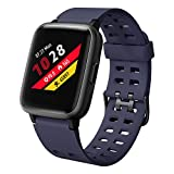 LETSCOM Smart Watch with Heart Rate Monitor, Compatible with iPhone Samsung Android Phones, IP68 Waterproof Activity...