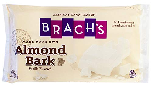 Brach's Melting Vanilla Almond Bark Slab 20 Ounce