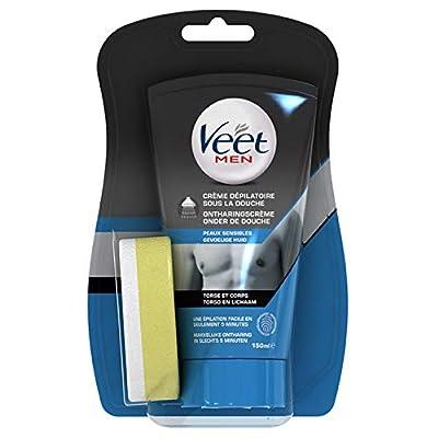 Veet Men Depilatory Cream Under The Shower Sensitive Skins 150ml from Veet