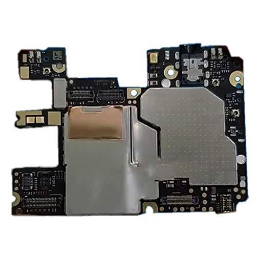 WAYYQX Teléfono Placa Principal Repuesto Global Versión De 32 GB Fit For Xiaomi Redmi Nota 6 Pro Circuits Note6Pro Motherboard SIM Dual, Teléfono Placa Madre (Color : 32GB)