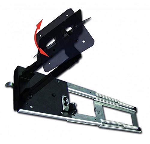 Anarion - Supporto TV per armadio, rotazione 180°, scorrevole destra o sinistra