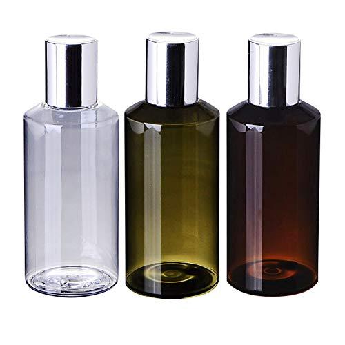 FafSgwq 150 ml de plástico portátil de Viaje Lleno de Botella vacía Botella de loción cosmética Botella de Perfume Botella de Solar Botella de Maquillaje Green