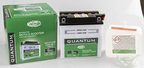 Batteria per motocicletta 12V 8Ah AGM Ioni TYP - MG9B-4// YT9B-BS // GT9B-4
