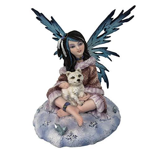 Les Alpes Orig. Fata Fiona, 13cm, Orig Fairy Land Collection - Figura Statuina Dipinta a Mano - 042 762