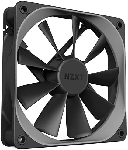 Nzxt Rf Af120 D1 Pc Lüfter 120 Mm Schwarz Single Pack Computer Zubehör