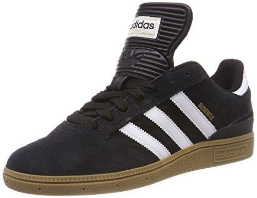 adidas Herren Busenitz Fitnessschuhe, Schwarz (Negro1/Runbla/Oromet 000), 44 2/3 EU