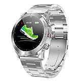 WWDKF Smartwatch,Moda Smartwatch, Frecuencia Cardíaca, Sueño, Monitoreo De Salud, Recordatorio De Información Inteligente, Reloj De Podómetro,F