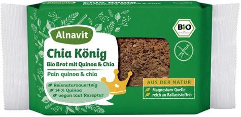 Alnavit Bio Chia König Brot 250g