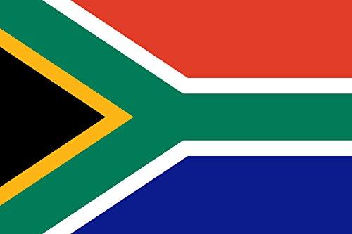 Gran Bandera de Sudafrica 150 x 90 cm Satén South Africa