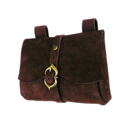 Elbenwald Mittelalterliche Tasche braun