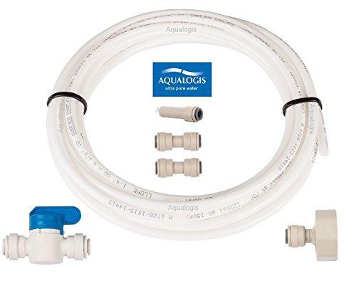 aqualogis Kühlschrank Anschluss-Set 6A für American Style Side by Side Whirlpool Ariston Hotpoint Amana Kühlschränke
